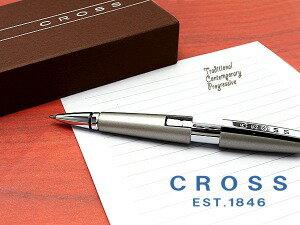 CROSS クロス EDGE エッジローラーボール 水性ボールペン ソニックチタン AT0555-5(書きやすい高級ブランドギフトプレゼント就職祝い入学祝い男性女性)【ネコポス不可】