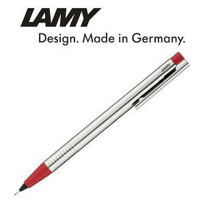 LAMY ラミー logo ロゴシャープペンシル ステンレス レッド L105RD(シャーペン/高級/ブランド/ギフト/プレゼント/就職祝い/入学祝い/男性/女性/おしゃれ)【ネコポス可】【ネコポス不可】