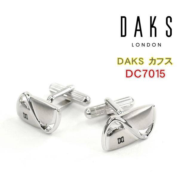 【DAKS】ダックス カフス 専用ボックス付き ロジウムメッキ DC7015