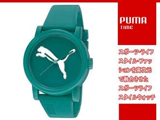 PUMA彪馬PUMA TIME彪馬時間Big Cat(BIC猫)模擬手錶綠色PU103682005