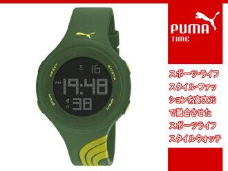 彪马 PUMA 彪马时间时间扭曲的 L (大扭曲) 数字看绿色 PU911091007