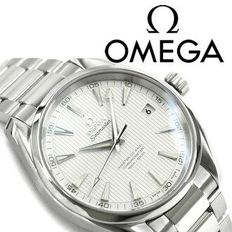 OMEGA奥米伽海主人Aqua太拉自动卷机械式精密记时计人手表白银子拨盘不锈钢皮带231.10.42.21.02.003