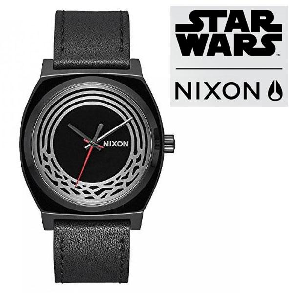 NIXON ニクソン STARWARS Time Teller タイムテラー スターウォーズ ユニセックス 腕時計 レザーベルト A1067SW2444【あす楽】