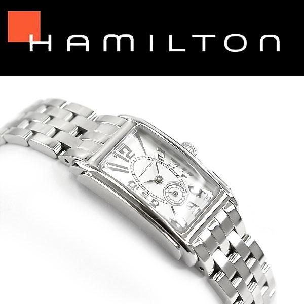 【Hamilton】ハミルトン アメリカンクラシック アードモア レディース クォーツ レディース腕時計 ホワイトダイアル ステンレスベルト H11211053【あす楽】