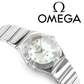 OMEGA オメガ コンステレーション レディース腕時計 24MM ホワイトパールダイアル シルバー ステンレスベルト 123.10.24.60.55.002
