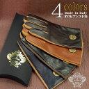 【ネコポス送料無料】 【Orobianco】オロビアンコ イタリア製 選べる4カラー 2サイズ メンズ手袋 羊革 ブラック×モカ…