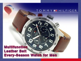 ee24864c2 Categories. « All Categories · Watches · Women's Watches · Tommy Hilfiger  multifunction mens watch Navi-dial-brown ...