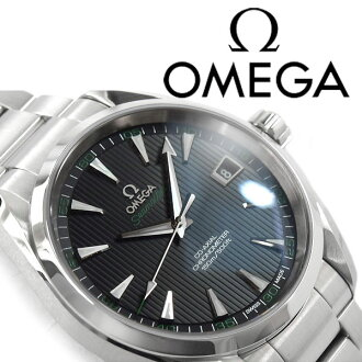 OMEGA Omega Seamaster Aqua Terra automatic self-winding mechanical chronometer mens watch black dial stainless steel belt 231.10.42.21.01.001
