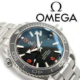 OMEGA オメガ シーマスター プラネットオーシャン 600M 自動巻き機械式 メンズ腕時計 ブラックダイアル ステンレスベルト 232.30.42.21.01.003
