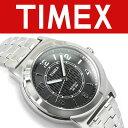 【並行輸入品】TIMEX タイメックス Bank Street バンクストリート メンズ 腕時計 ブラック×シルバー TW2P61800-H TW2…