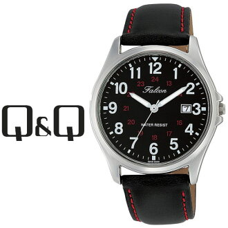 Citizen CITIZEN Q & Q with the queue_admin Falcon Falcon mens watch black x black D026-305