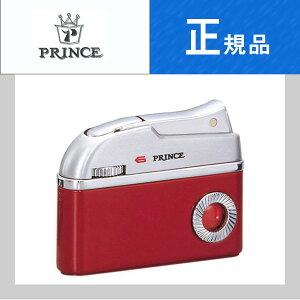 【Prince】プリンス ドルフィン L/Kレッド Dolphin ガスライター シルバー、ラッカーレッド【ネコポス不可】