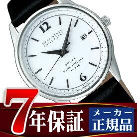 【MACKINTOSH PHILOSOPHY】マッキントッシュ フィロソフィー ソーラー 腕時計 メンズ ペアウォッチ ホワイト ダイアル FBZD989
