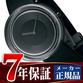 イッセイミヤケ ISSEY MIYAKE ガラスウォッチ メンズ 腕時計 ブラック ダイアル NYAH002【あす楽】