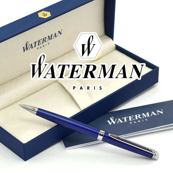 【WATERMAN】ウォーターマン メトロポリタン エッセンシャル ブライトブルーCT ボールペン 油性 WM-METROPES-BP-BBC【あす楽】