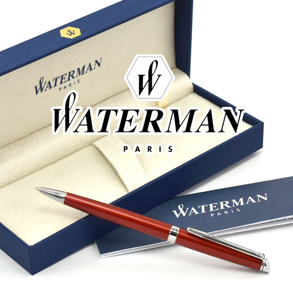 【WATERMAN】ウォーターマン メトロポリタン エッセンシャル ルージュCT ボールペン 油性 WM-METROPES-BP-RGC【あす楽】