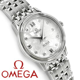 OMEGA オメガ デ・ヴィル プレステージ バタフライ クォーツ 27.4MM レディース腕時計 424.10.27.60.52.001