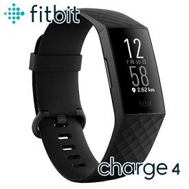 Fitbit Charge 4 トラッカー フィットビット チャージ 4 ユニセックス スマートウォッチ FB417BKBK-FRCJK