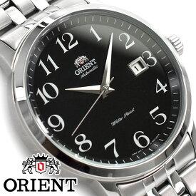 【逆輸入 ORIENT SYMPHONY】オリエント シンフォニー 自動巻き機械式 メンズ 腕時計 ブラックダイアル ステンレスベルト FER2700JB0【あす楽】