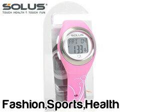 【SOLUS Leisure 800】ソーラス レジャー800 ウォーキング ジョギング 健康 腕時計 消費カロリー 心拍数測定機能 ピンク 01-800-07【ネコポス不可】