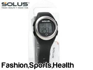 SOLUS ソーラス Leisure 800 レジャー800 ウォーキング ジョギング 健康 腕時計 消費カロリー 心拍数測定機能 ブラック 01-800-201【ネコポス不可】