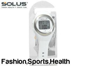 【SOLUS Leisure 800】ソーラス レジャー800 ウォーキング ジョギング 健康 腕時計 消費カロリー 心拍数測定機能 ホワイト 01-800-202【ネコポス不可】