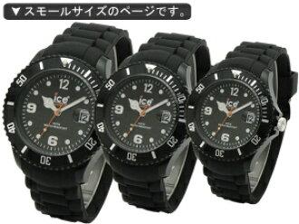 冰表手表ice-watch ice-Sili ForeverアイスシリフォーエバースモールサイズブラックSIBKSS