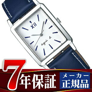 【agnes b.】アニエスベー マルチェロ!シリーズ レクタングル クオーツ ペアモデル メンズ 腕時計 FCRK994