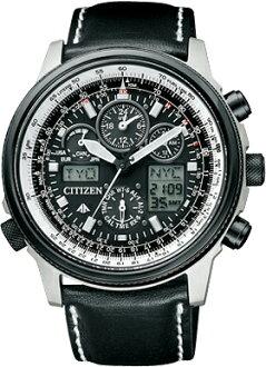 公民 ProMaster 天空男裝看生態磁碟機無線電時鐘 perfex KT 多 3000 計時試點手錶 PMV65-2272