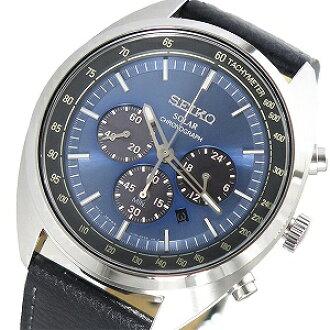 reputable site 085fd f85d0 Reimportation SEIKO SEIKO solar chronograph men watch SSC625P1 blue