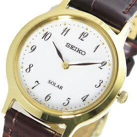 【逆輸入 SEIKO】逆輸入セイコー SEIKO ソーラー レディース 腕時計 SUP370P1 ホワイト【あす楽】