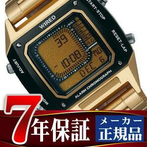 【7年保証】【正規品】【送料無料】セイコー ワイアード ソリディティ SEIKO WIRED SOLIDITY デジタル クロノグラフモデル メンズ 腕時計 AGAM402 Featuring BEAMS モデル【あす楽】