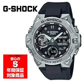 【16日0時〜17日23時59分 最大25,000円OFFクーポン配布中】G-SHOCK G-STEEL GST-B400-1A アナデジ メンズ 腕時計 シルバー ブラック Gショック ジーショック Gスチール