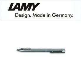 【LAMY】ラミー Logo ロゴステンレス 複合 ボールペン マルチファンクション 黒ボールペン シャープペン0.5mm ステンレス シルバー L606 (ギフト/プレゼント/就職祝い/入学祝い/男性/女性/おしゃれ)