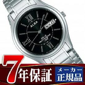【SEIKO ALBA】セイコー アルバ ソーラー メンズ 腕時計 ペアモデル AEFD553