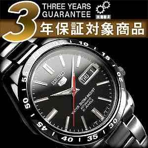 セイコー セイコー5 SEIKO5 セイコーファイブ メンズ 腕時計 SNKE03K 逆輸入セイコー 自動巻き メカニカル 機械式 ブラック メタルベルト SNKE03K1 SNKE031KC 正規品 3年保証 メンズ 腕時計 男性用 seiko5 日本未発売 ビジネス【楽ギフ_包装】【あす楽】