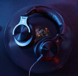 【ポイント15倍】OneOdio FuSion A70 ヘッドホン 50時間連続再生 Bluetooth 5.0 ワイヤレス ヘッドセット ゲーミングヘッドセット ワイヤレスヘッドホン 重低音 DJ用 モニターヘッドホン 有線 無線 両方対応 iPhone Andoroid PC PS4 多機種対応 (黒/赤/銀/金)