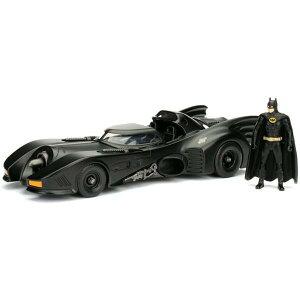 ジャダトイズ ジェイダトイズ JADA TOYS 1989 BATMOBILE & BATMAN 1:24スケール 1989 バットモービル バットマンフィギュア 送料無料
