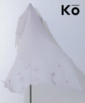 ▼▼「Ko」無機的思考に浮かぶ華ストール4月13日22時販売新作