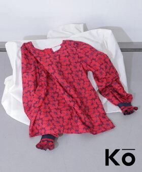 ▼▼「Ko」色が詠う、華と踊るトップス4月18日22時販売新作/S6