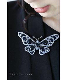 【03以外再入荷♪12/9 12時&20時】煌めく花と蝶々のブローチコレクション