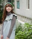 【再入荷♪9月22日12時&22時より】cawaiiオリジナル「mori」☆☆☆ふわっと襟。刺繍とデニム。ワンピース