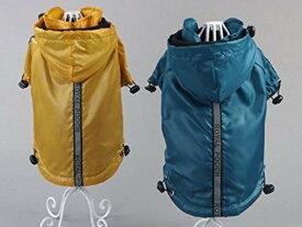 犬服 レイン コート メール便送料無料 防水 防寒 ポンチョ アウトドア 内側フリース レインポンチョ