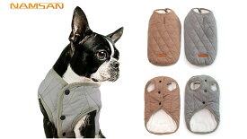 メール便送料無料 犬服 犬用 ベスト ジャケット 防寒 リード穴あり