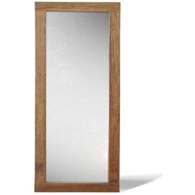 【送料無料】 ミラー 90×180cm 全身鏡 姿見 立掛け式 エルム古材を使用したアンティーク・ヴィンテージテイスト 大型 大型ミラー エイジング加工した味のあるデザイン 角型 玄関、クローゼット、ショップ、美容室、カフェに◎ 男前