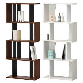 【送料無料】 60 ラック ハイタイプ (NA/WH/DK) ディスプレーラック ラック シェルフ 縦置き/横置きどちらも使用可能 オープンラックで飾り棚としても 本棚 書棚 ナチュラル/ホワイト/ダークブラウンの3色 北欧/レトロ