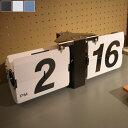 【送料無料】 パタパタ時計 (BK/BL/WH) 置き時計/掛け時計兼用 パタパタ 時計 卓上にも壁掛けにもどちらもOK フリップクロック ブラッ…