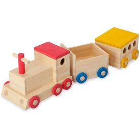 【送料無料】汽車 おもちゃ オモチャ 玩具 機関車 貨車客車 木製 乗り物 木のおもちゃ トイボックス おもちゃ収納 北欧/ナチュラル おしゃれ 出産祝い/お誕生日/贈り物 角丸 かわいい 檜 ヒノキ ひのき 日本製