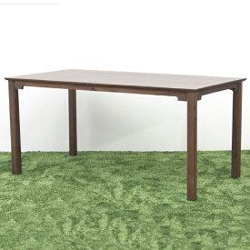 【送料無料】 150 ダイニングテーブル 4人用 テーブル ダイニング 食卓テーブル テーブル 作業台 木製 シンプル/レトロ/モダン/北欧/和モダン テーブル単品 食卓机 幅150cm 奥行き80cm 高さ71cm おしゃれ ウォールナット