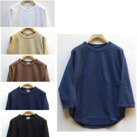 WALLA WALLA SPORT(ワラワラスポーツ)/3/4 BASEBALL TEE七分袖ベースボールTシャツ